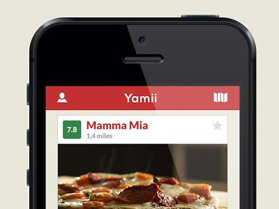Yamii mobile app