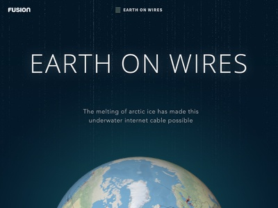 Earth On Wires ui