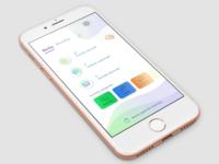 Progress screen for an educational app