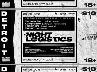 Night Logistics Flyer