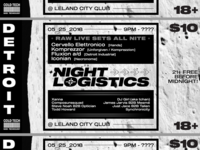 Night Logistics Flyer