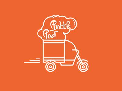 Bubble Post Logo