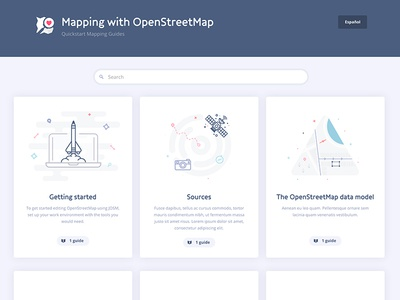 [WIP] Mapping Guides satellite maps osm mapbox guides mapping