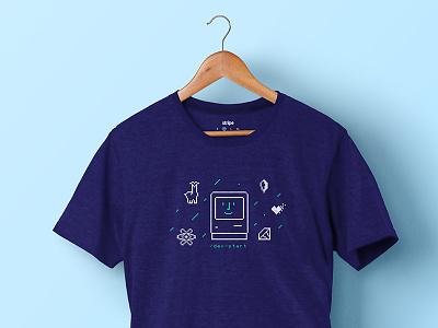 /dev/start T-shirt engineers t-shirt