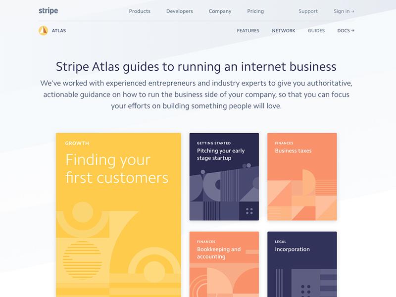 Stripe Atlas Guides geometry cards guides atlas stripe