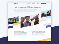 Stripe jobs page video photography careers landing page jobs page stripe