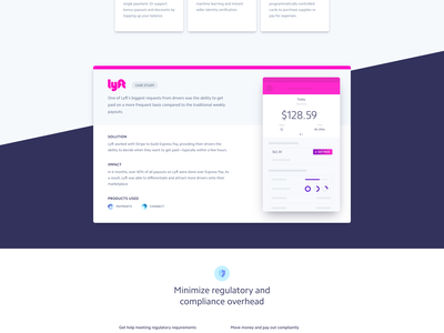 Stripe solutions solutions landing page stripe