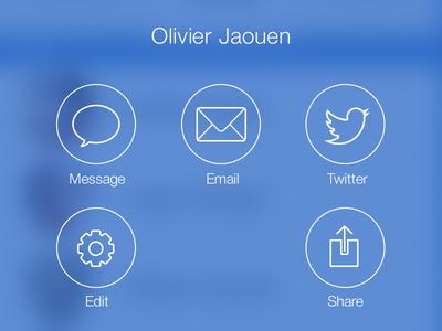 iOS 7 Pop-up