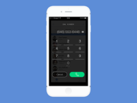 iPhone Dialer Experimentation 1