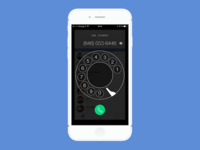 iPhone Dialer Experimentation 2