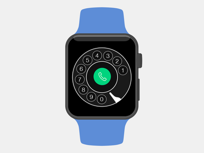 Vintage Apple Watch Dialer app apple watch ios dialpad dialer