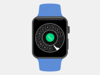 Vintage Apple Watch Dialer