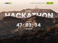 Hackathon Landing Page - Parallax Header