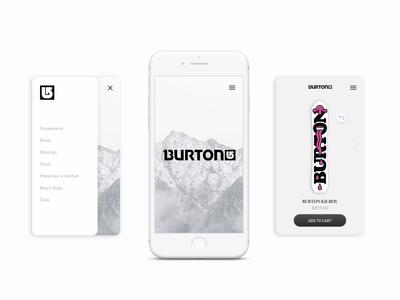 Burton App Redesign