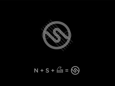 N + S Logo