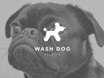 Wash Dog Logo