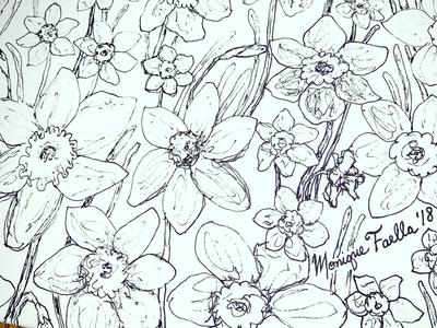 Daffodils Illustration!