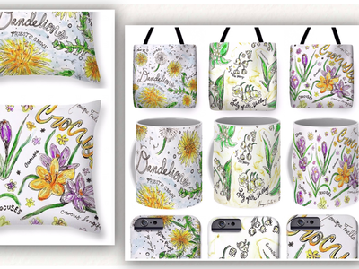 Newly released floral designs!