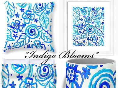 """Indigo Blooms"" product launch!"