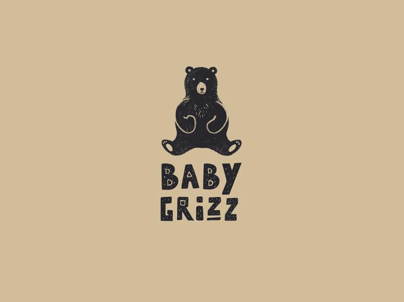Baby Grizz   Branding