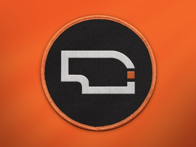 Patches! graphic design designer design midwest monogram draplin illustration badge vector branding logo symbol orange nebraska patch patch design