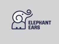 Elephant Ears Food Truck Logo
