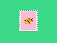 Pixel Taco | Stamp Series