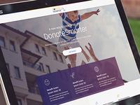 Donate Smarter - Promotion Landing Page
