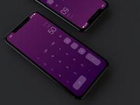 iPhone X Calculator Concept Design