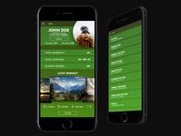 Endomondo User Profile and Settings
