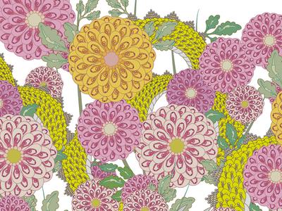 "Pattern ""Chrysanthemum"""