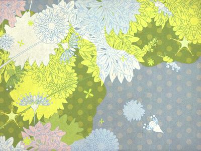 """Pattern """"Flower's space"""""""