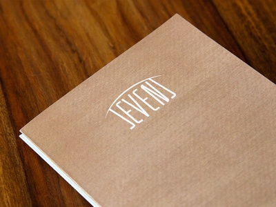 Sevens Restaurant - Menu Card (Cover)