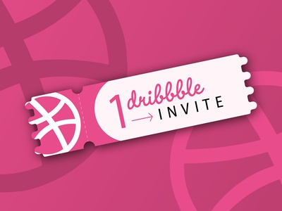 Dribbble Invite blue app illustration identity icon character branding brand flat design dribbble
