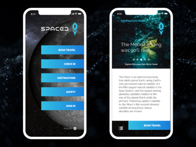 SPACEDchallenge App 1