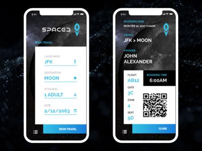 SPACEDchallenge App 2