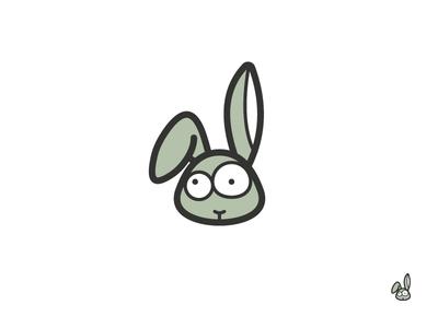 ThirtyLogos Challenge Day 3 Twitchy Rabbit