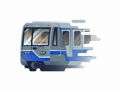 """Subway train """"Oka"""""""