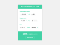 Daily UI 004 - Mortgage Repayments Calculator