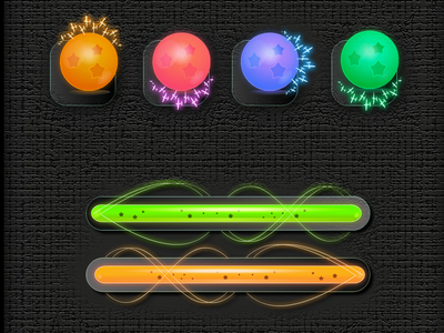 Hiroon Game Elements web ux branding typography vector ui design طراحی app game app logo illustration game icon لوجو لوگو گیم بازی