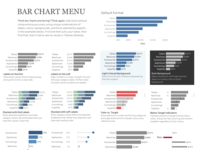 Bar Chart Menu