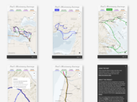 Map of Paul's Journeys