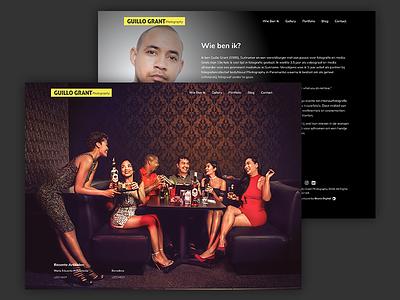 Photography Website web design web website ui ui design photography website photography
