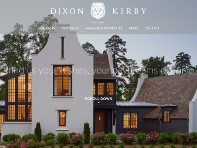 Custom Home Builder Designs Themes Templates And Downloadable Graphic Elements On Dribbble