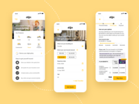 Travel Insurance experience insurance app ux ui design mobile app design adobexd