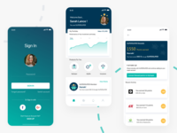Investments and Rewards App rewardsapp investmentapp ui ux adobexd mobile app design