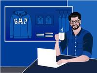 Java developer for clothing brand☕👚 #gap