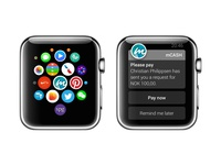 mCASH on Apple Watch