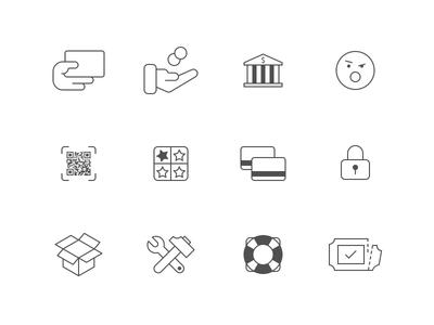 mCASH Icon Suite