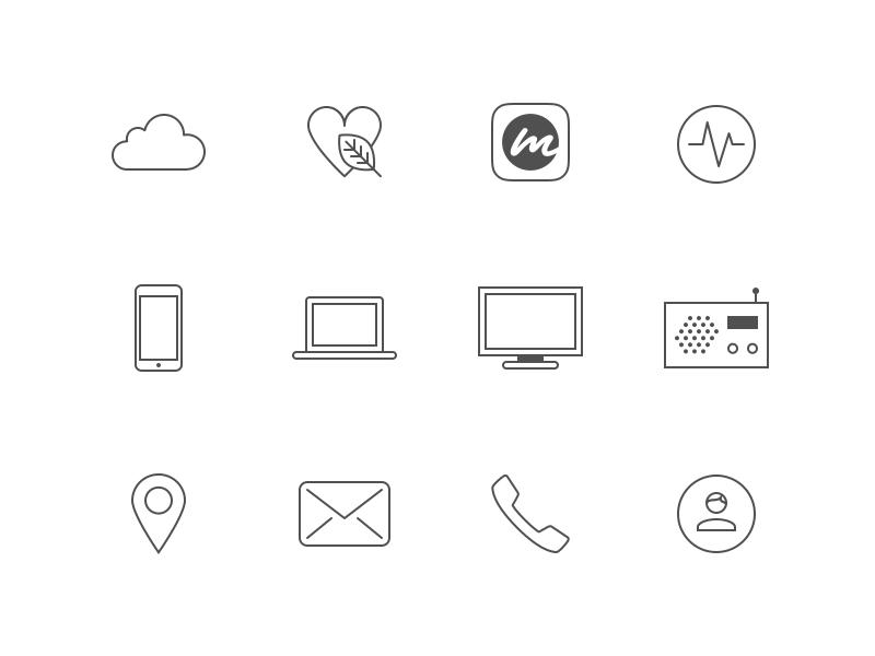 mCASH Icon Suite – Part 2 payments mcash set symbol website app icons iconography